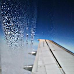 journey flying airplane sky