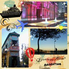 emotions city argentina gdtravelpostcard love
