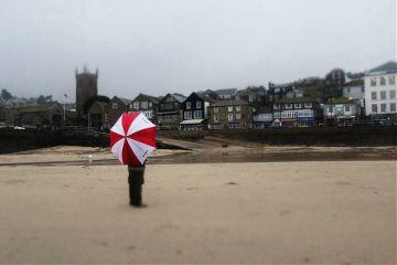 beach photography umbrella sea summer