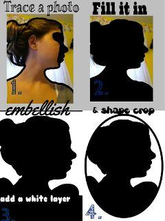 stepbystep silhouette