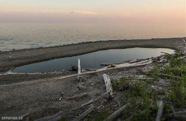 toronto summer beach sunset