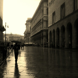 emotions rain