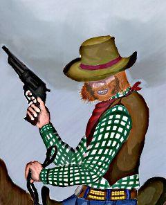 pencil art dccowboy
