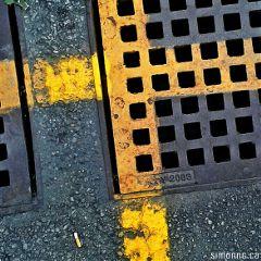 streets art abstract city symbols