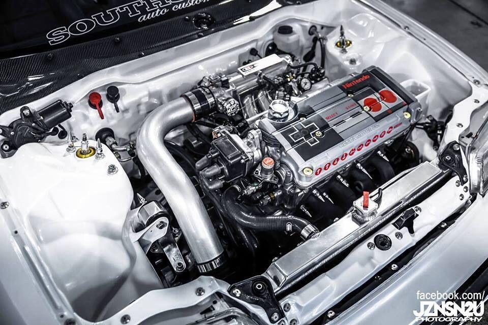 Nintendo cover for Honda Vtec Engine