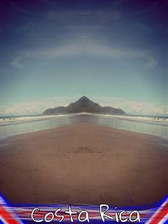 costa rica pura vida beach