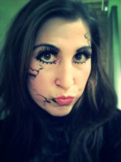 halloween brokendoll doll night