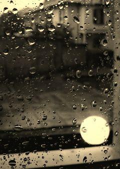 rain sepia