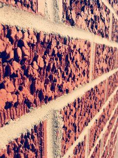 bricks photography red summer spring