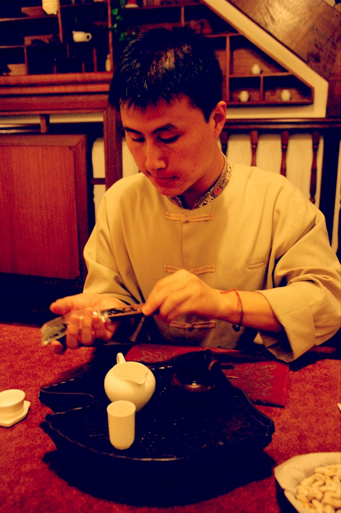 Singapore tea ceremony