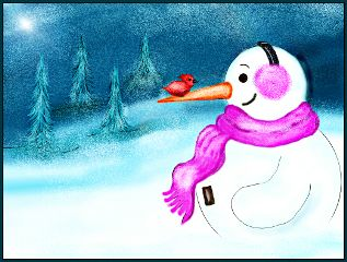 dcsnowman drawing christmas pencil art snow