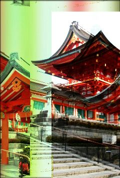 travel old photo japan kyoto
