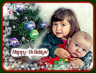 baby people christmas holidays