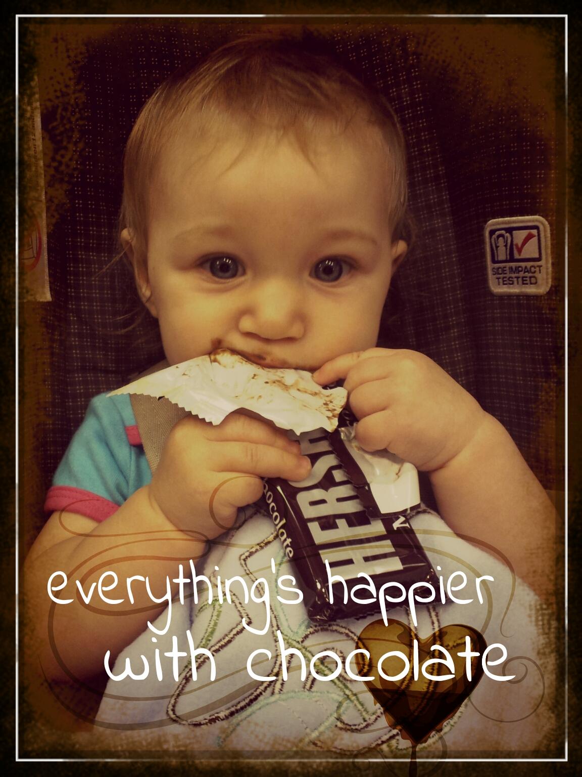 chocolate ad design