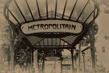 metro underground retro paris montmartre quotes & sayings