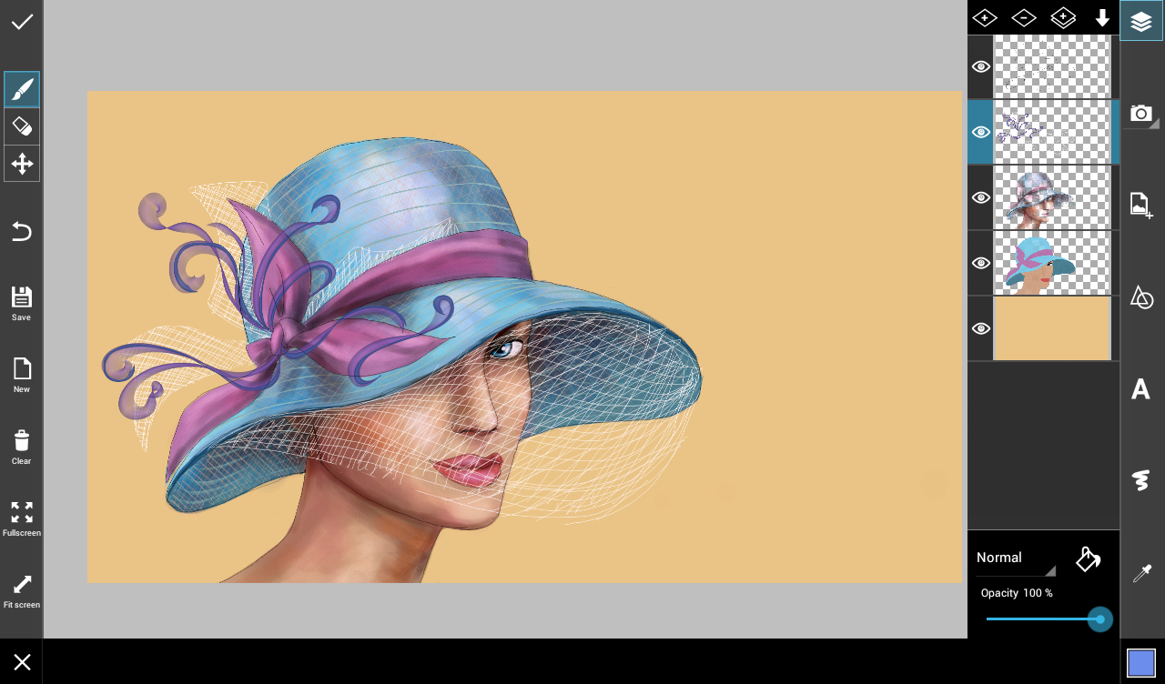 draw a hat
