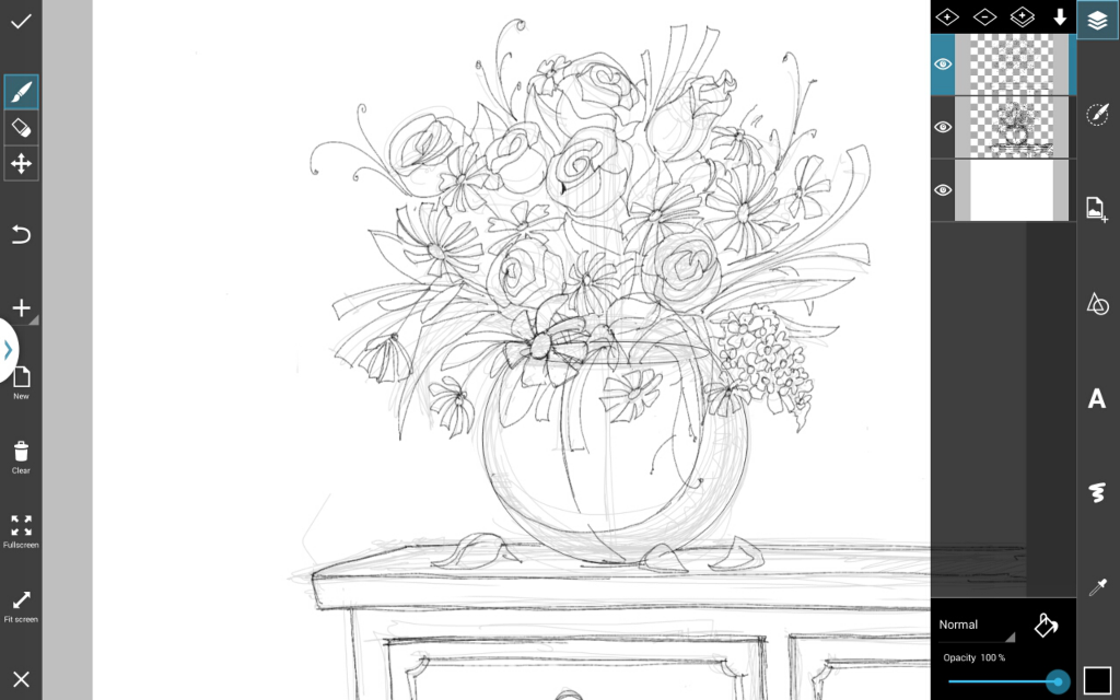 how to draw flowers step by step