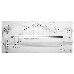 music sheet paper art